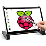 Touchscreen Monitor, EVICIV 7 Inch Portable USB Monitor Raspberry Pi Touch Screen IPS Display Computer Monitor 1024X600 16:9
