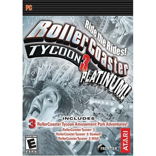 Rollercoaster Tycoon 3: Platinum [Download] by Atari