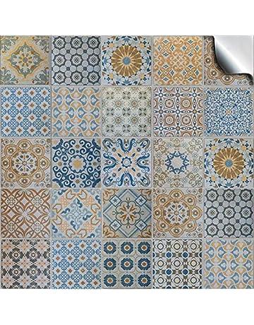Tile Stickers Home Kitchen Amazon Co Uk
