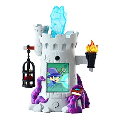Of Dragons, Fairies, and Wizards Tower Playset and Accessories, Grey: Toys & Games