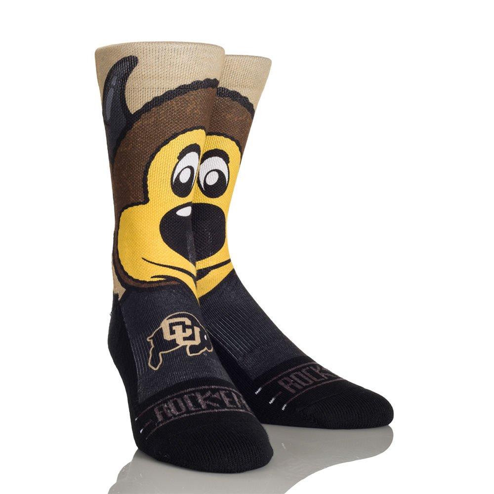 NCAA University of Colorado Buffaloes Custom Athletic Crew Socks