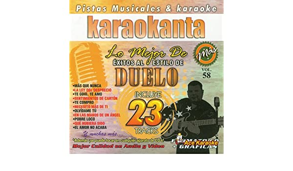 Amazon.com : Karaokanta KAR-8058 - Duelo / Lo Mejor de... - Spanish CDG : Beauty