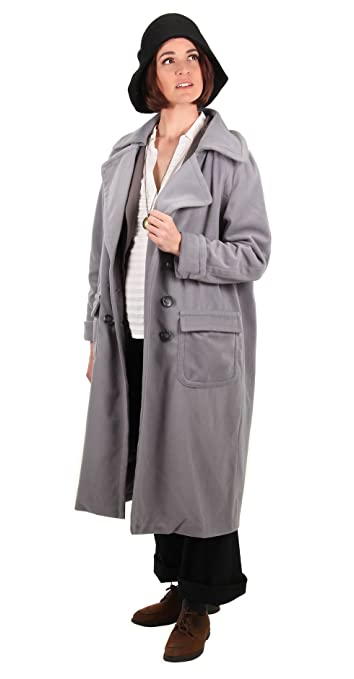 1920s Coats, Furs, Jackets and Capes History elope Fantastic Beasts and Where to Find Them Tina Goldstein Coat $59.99 AT vintagedancer.com