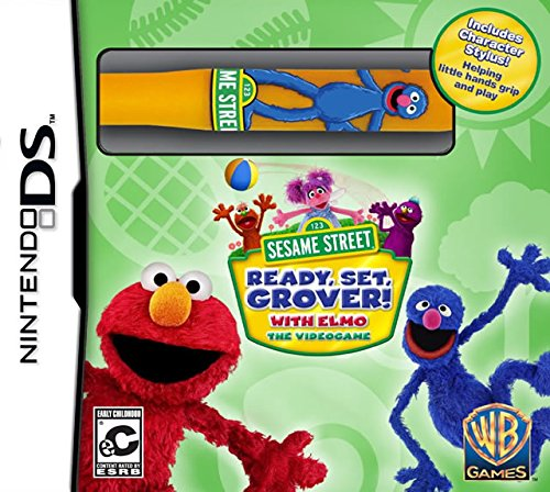 Sesame Street: Ready, Set, Grover! - Nintendo DS (Nintendo Ds Toddler)