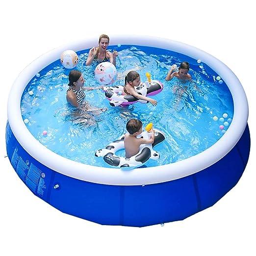 YANGMAN Piscina Inflable Centro de natación Familiar Piscina ...