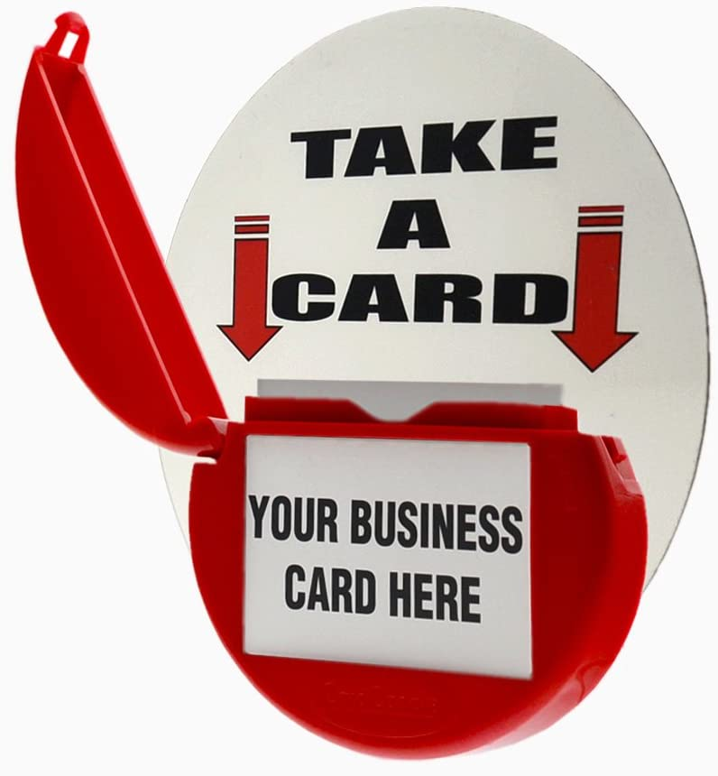 Vehicle Outdoor Business Card Holders Card Caddie