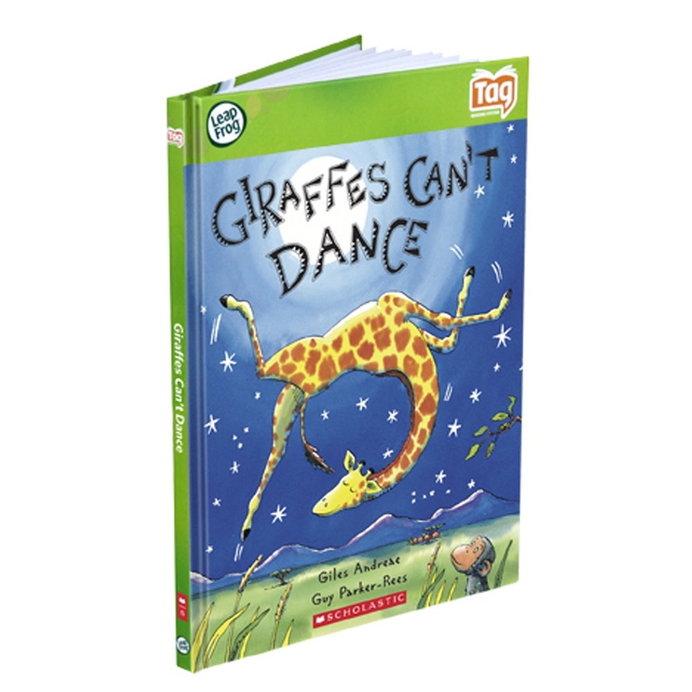 LeapFrog Tag Activity Storybook Giraffes Can't Dance (Scholastic) by LeapFrog