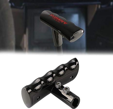 PLUSUTV UTV T-Handle Knob Shifter Zinc Alloy Shift Lever Ergonomic Designed Fit for Polaris RZR 2020 Chrome Style