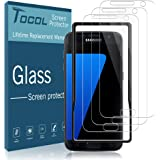 TOCOL [3Pack] for Samsung Galaxy S7 Screen Protector Tempered Glass HD Clarity Touch Accurate [9H Hardness] Easy…