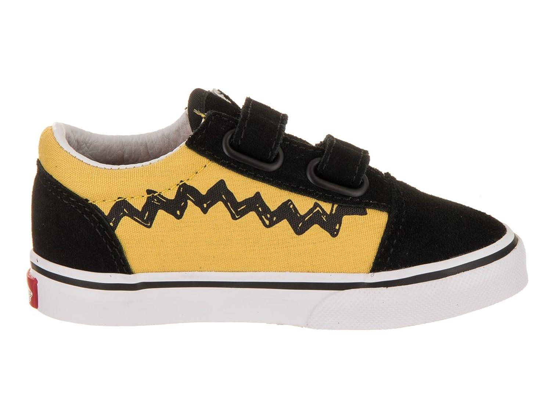 Toddlers Old Skool V (Peanuts) Charlie Brown/Black Skate Shoe 8.5 Infants US Vans Niedrigen Preis Versandkosten Für Günstigen Preis 2018 Online YNO4Ns1