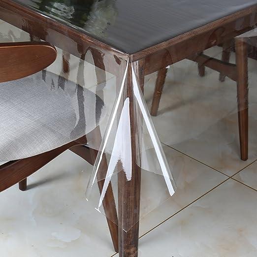 NgFTG Ultrafino Transparente Protector De Mesa, PVC Mantel ...