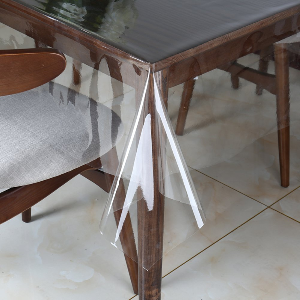 Nclcxn Ultra-thin Durchsichtige Tischtücher Tischdecke,Kunststoff tischdecke Wasserdicht Schmutzabweisend Falten Weich-A 180x250cm(71x98inch) B07D4N59CM Tischdecken Auktion  | Exquisite (mittlere) Verarbeitung