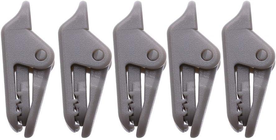jaw grip Camping Tent Holder Canvas Tighten tool tarp clips Alligator Clip Hook