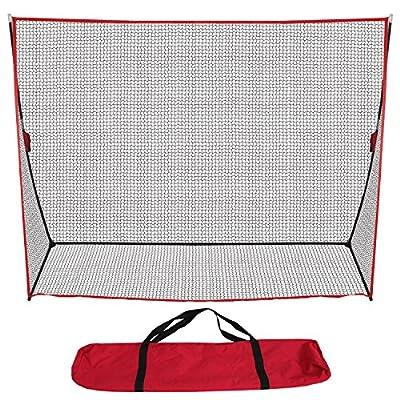 ZENY Portable Golf Hitting Net 10x7ft Golf Nets Netting for Backyard Driving Large,Golfing Practice Indoor Outdoor Sports Net w/Carry Bag (net + mat)