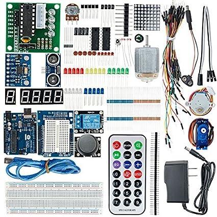 eDealMax Junta UNO R3 Junta Kit de Desarrollo de Proyectos monopastilla de bricolaje Para Arduino
