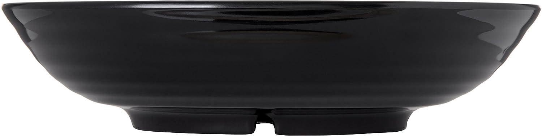 Case of 4 Carlisle 791303 Designer Displayware Melamine Pasta Bowl 10-lb Capacity 13 Diameter x 3.25 Height Black