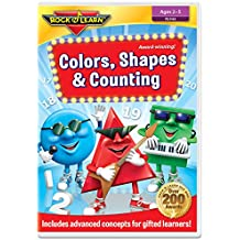 Colors, Shapes & Counting DVD by Rock 'N Learn