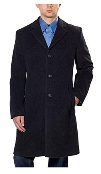 Amazon.com: Hathaway Platinum de los hombres lana y cachemir ...