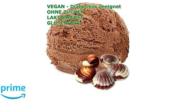 1 kg de polvo de chocolate belga vegetariana de hielo crema sabor - Azúcar - LACTOSA - GLUTEN - bajo en grasa, crema para diabéticos helado de leche en ...