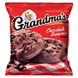 Grandma's Chocolate Brownie Cookies, 2.5 Ounce (Pack of 60)