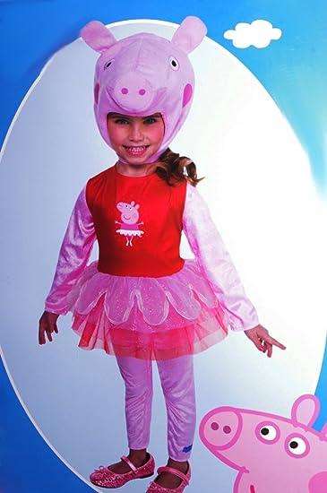 Amazoncom Peppa Pig Girls Costume Size 2t Pink Clothing