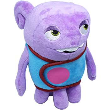 OK-STORE Oh Boov Plush Soft Oh Toy Doll Stuffed Animal- 8 Inch Shaped Cuddle Pillow for Kids and Friends