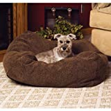 "Image of K&H Pet Products Cuddle Cube Pet Bed Small Mocha 24"" x 24"""