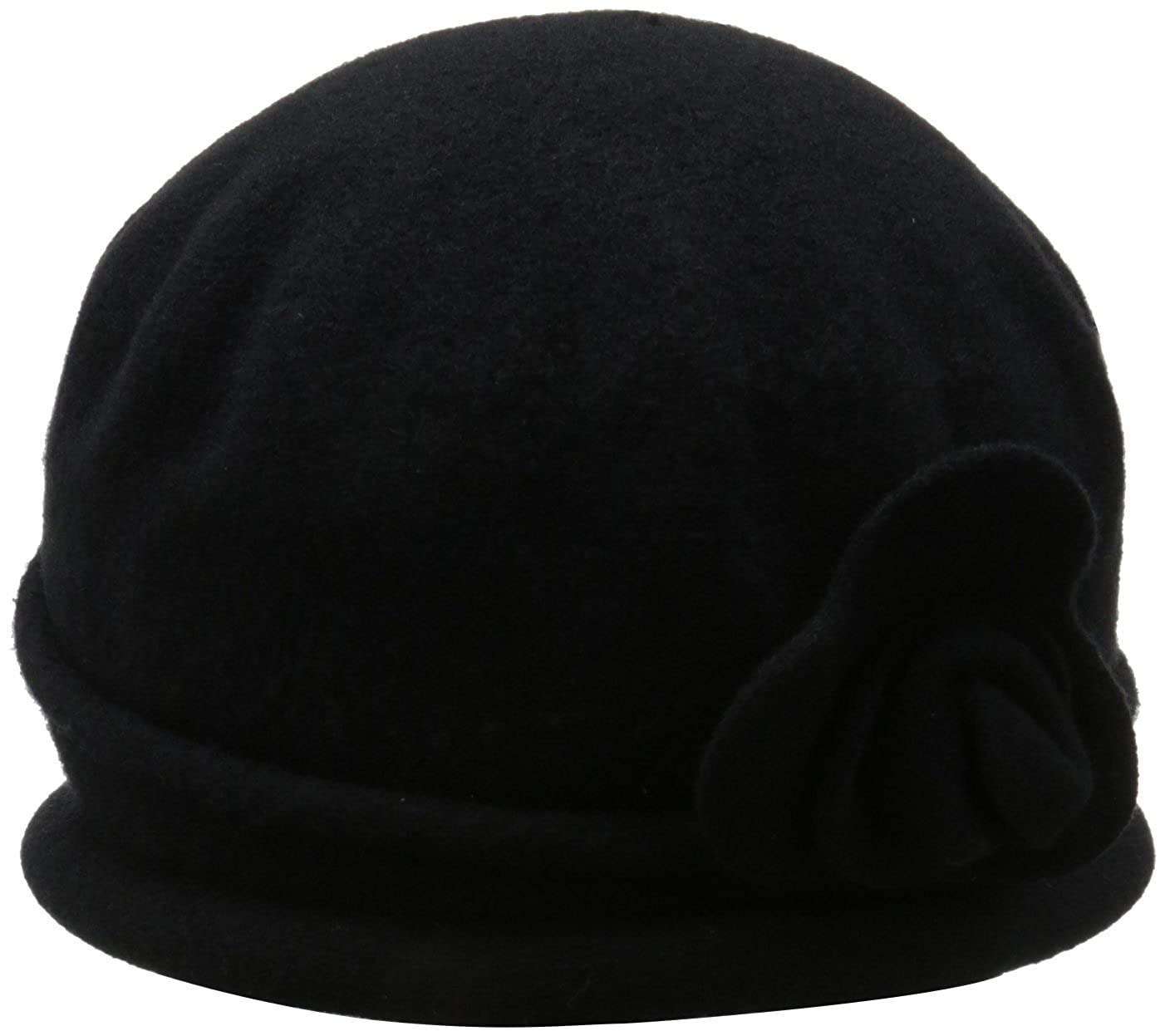 Black Parkhurst Women's Spencer Cloche Hat