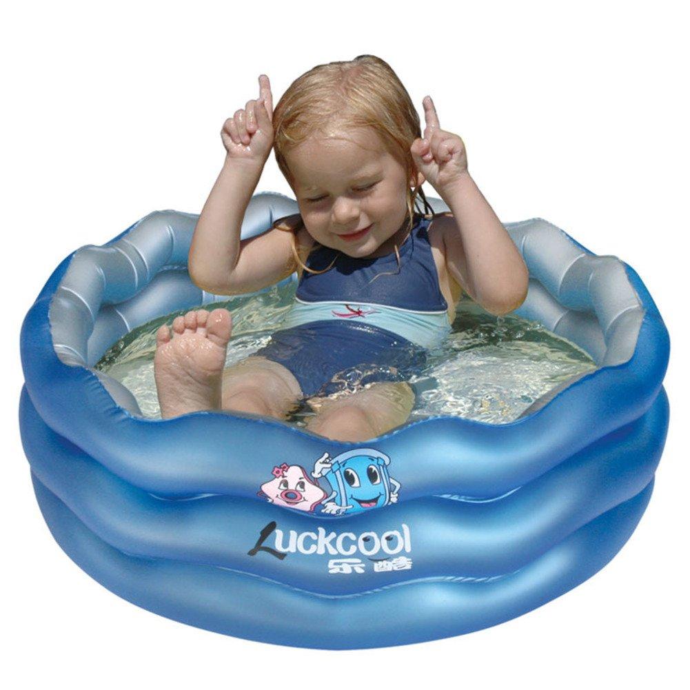 Wellenförmigen aufblasbare Badewanne/Ende des doppelten Luftblase-Spielzeug-Pool-A