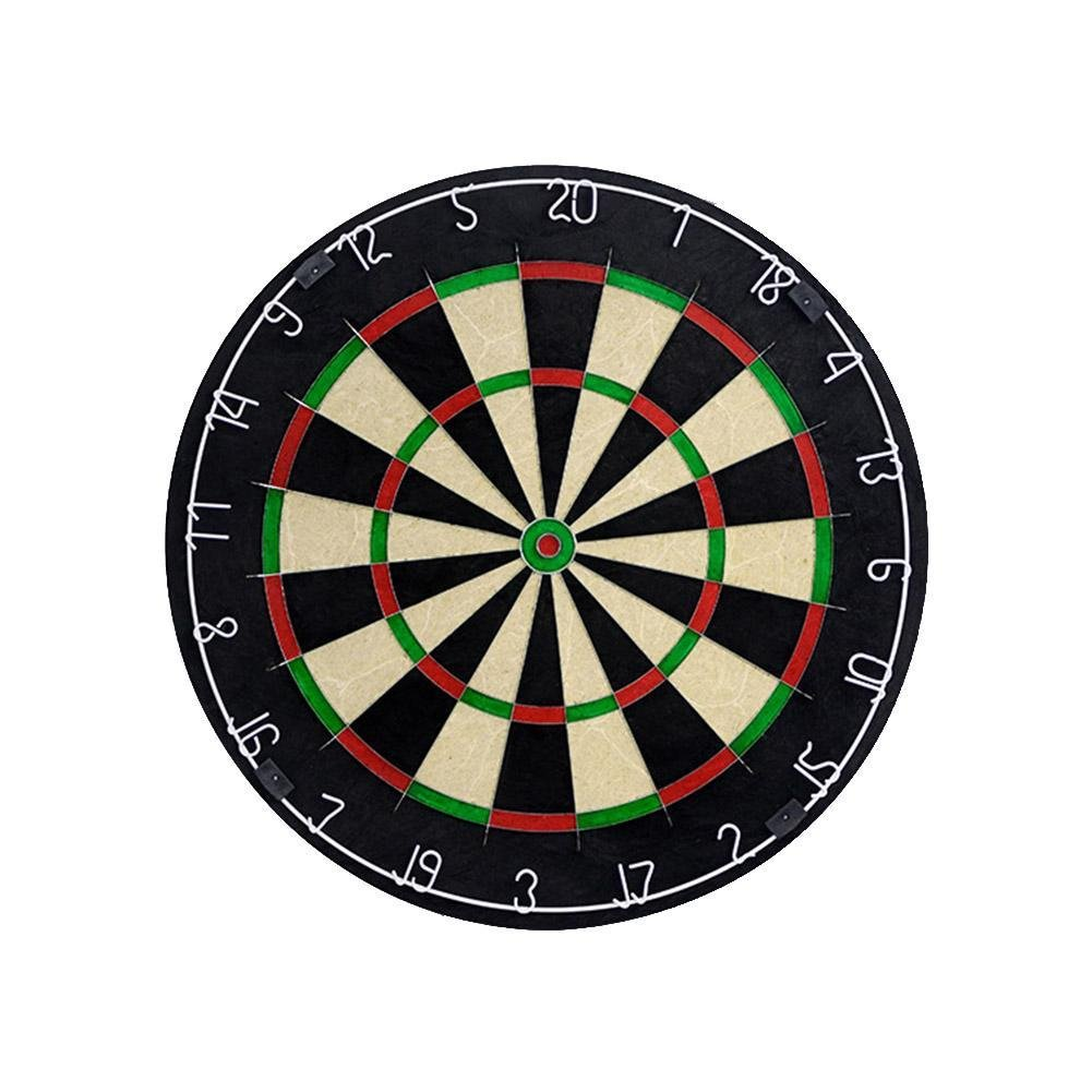 BleuMoo Tournament Dart Board Indoor Wall Mount Target Games Steel Tip 18 Inch Hanging
