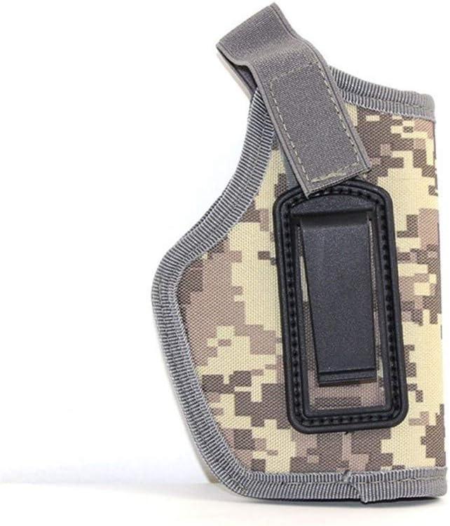 Vioaplem Pistolera Táctica For Glock 17 19 Colt 1911 Beretta M9 Taurus Makalov Airsoft Pistola del Cintura Encubrió Lleva Arma De La Caja