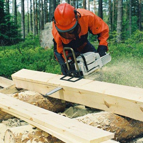 LOGSAFE Big Mill Timberjig Mini Sawmill, Black, 38 x 16 x 8 cm