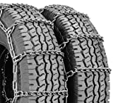 Security Chain Company QG4221 Quik Grip Type DT Light Truck Dual and Triple Tire Traction Chain - Set of 2