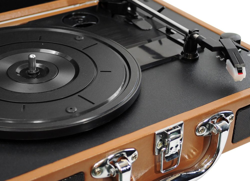 Amazon.com: PYLE HOME PVTT2UWD Retro Belt Drive Turntable With USB To PC  Connection: Home Audio U0026 Theater