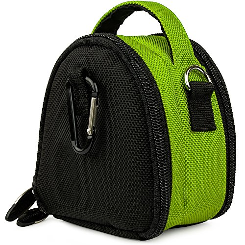 Accessory Camera for Waterproof Virb Ultra Shoulder Bag Action Case Elite Handle Green Garmin Top zvTAwA