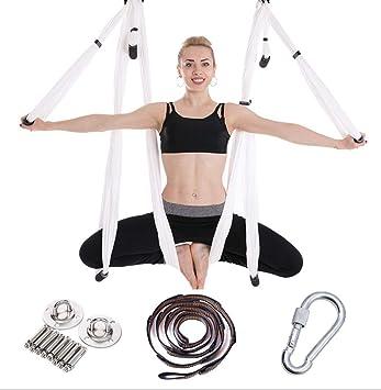 YN Hamaca aérea para Yoga, Juego de hamacas, 6 manijas, sin ...