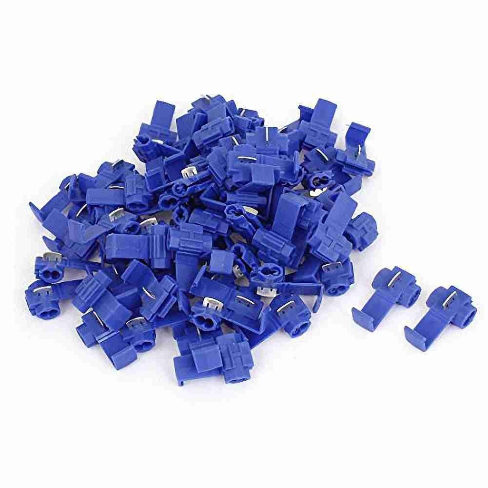 Nach &, sich (TM) 75 Pcs 2,5 mm2 Auto blau Draht Schnellverbinder ...