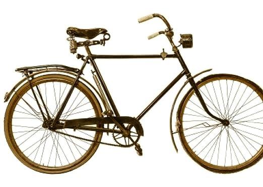 ndegdgswg DIY Pintura al óleo Antigua Bicicleta nostálgico Vintage ...