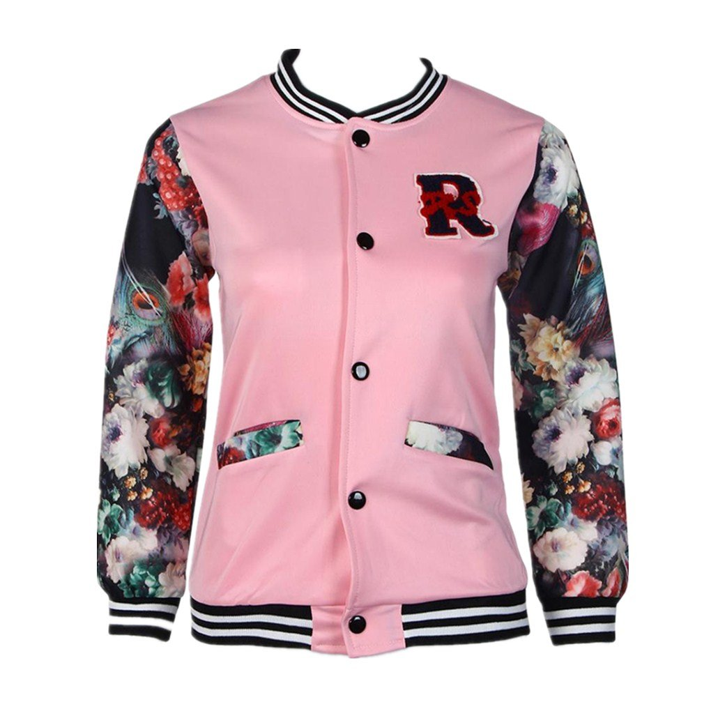 For 5-12 Years old Girls,Clode® New Fashion Girls Kids Baseball Jacket Long Sleeve Coat Clothes Outwear Clode-T669