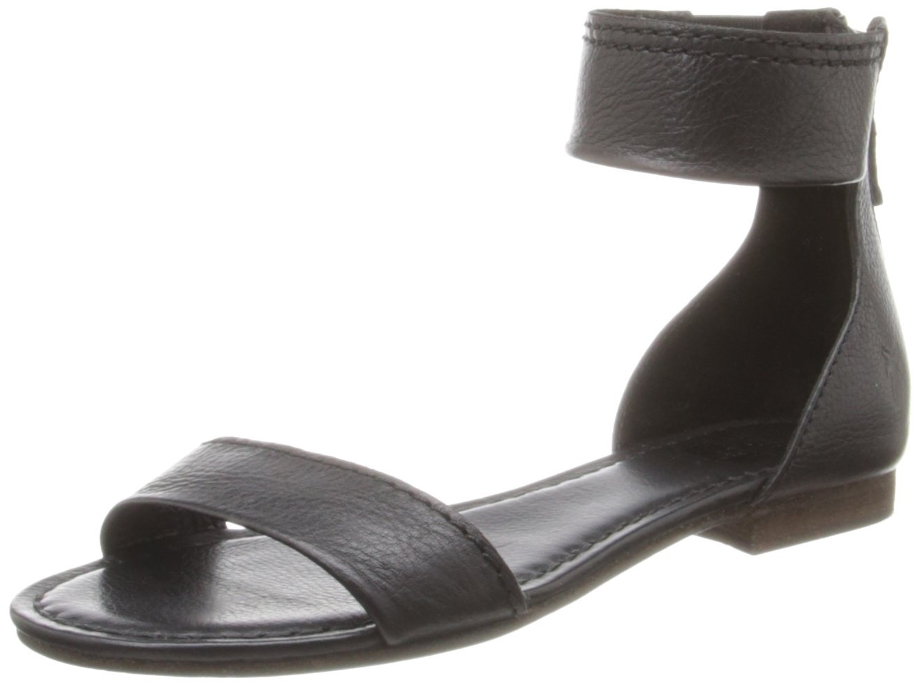 FRYE Women's Carson Ankle Zip Gladiator Sandal B00EZCQ18Y 6.5 B(M) US|Black-72107