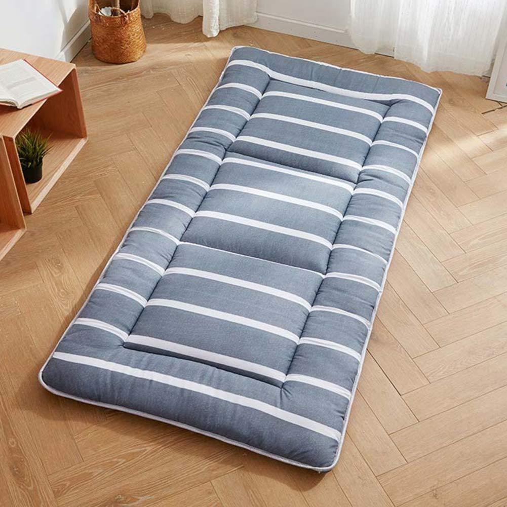 GWW Tatami Floor Mattress,Thicken Foldable Sleeping Futon Mat Student Dormitory Non-Slip Bed Roll-a 90x195cm(35x77inch)
