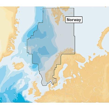 Navionics+ 49XG NORWAY Marine & Lake Charts on SD/MSD ...