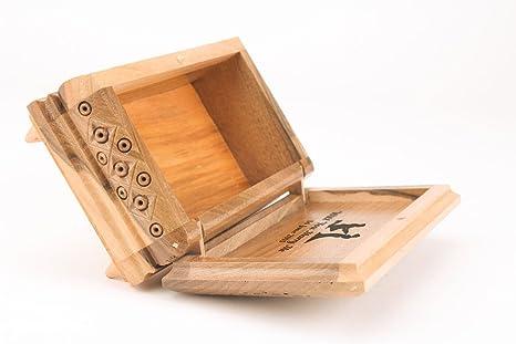 Personalizado regalo, caja de madera tallada
