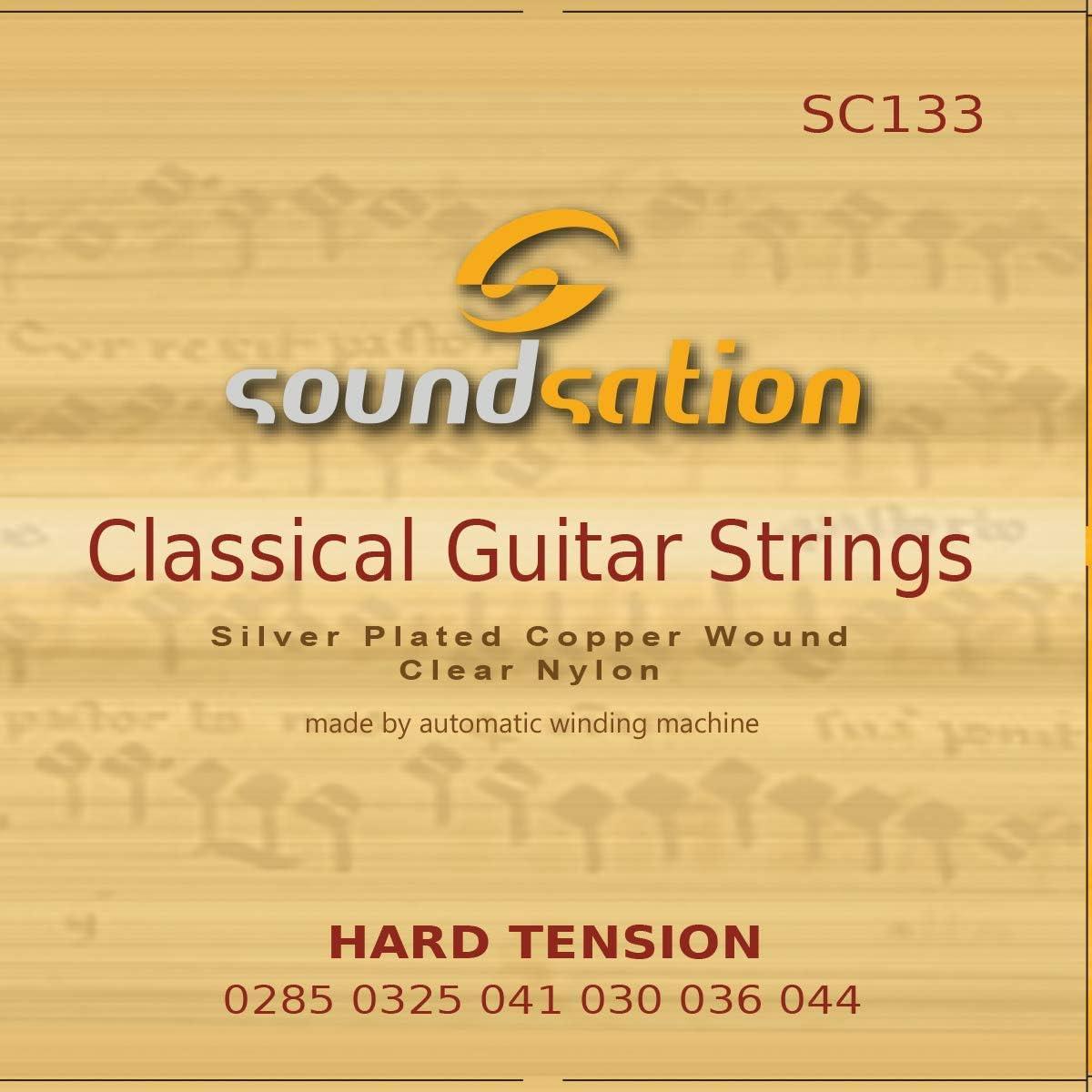Juego cuerdas para guitarra española SOUNDSATION SC132: Amazon.es ...