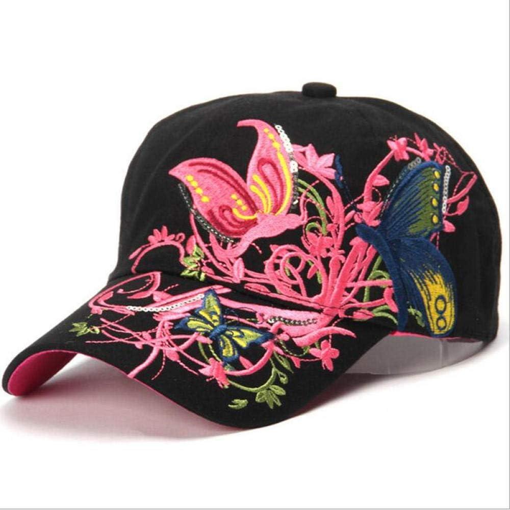 Gorra de béisbol Hecho a Mano Big Butterfly Hombres Mujeres Sombrero de Deporte al Aire Libre Verano Hip Hop Sombreros Snapback