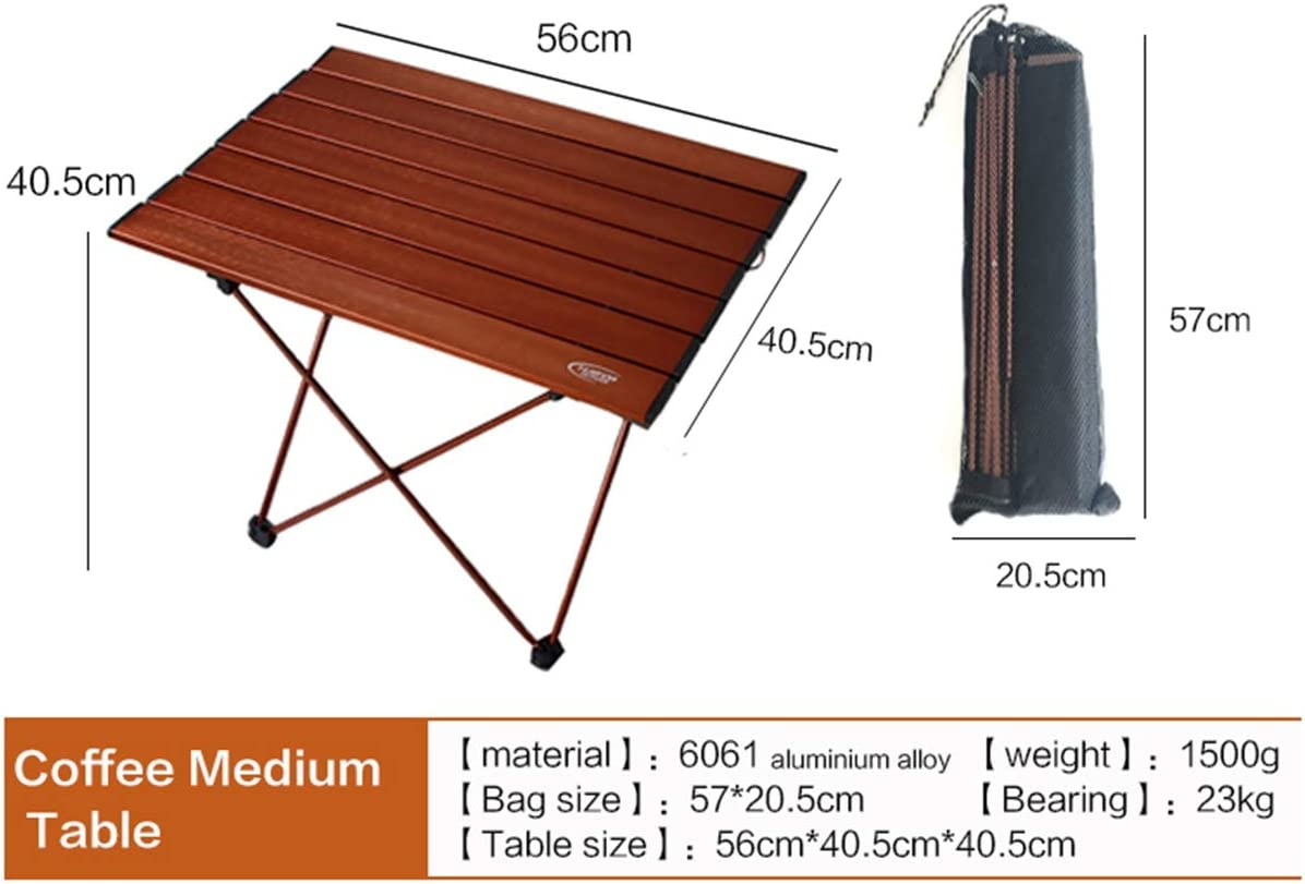 3.9lbs Large Portable Folding Camping Table for Beach 26.9 /× 18.3 Lightweight Compact Picnic Table up to 50.7lbs