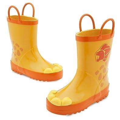 Amazon.com   Disney Kids Kion Rain Boots Yellow   Rain Boots