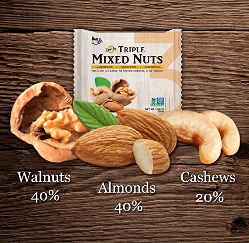 Daily Fresh Triple Mixed Nuts, 24 Count by Daily Fresh (Image #3)