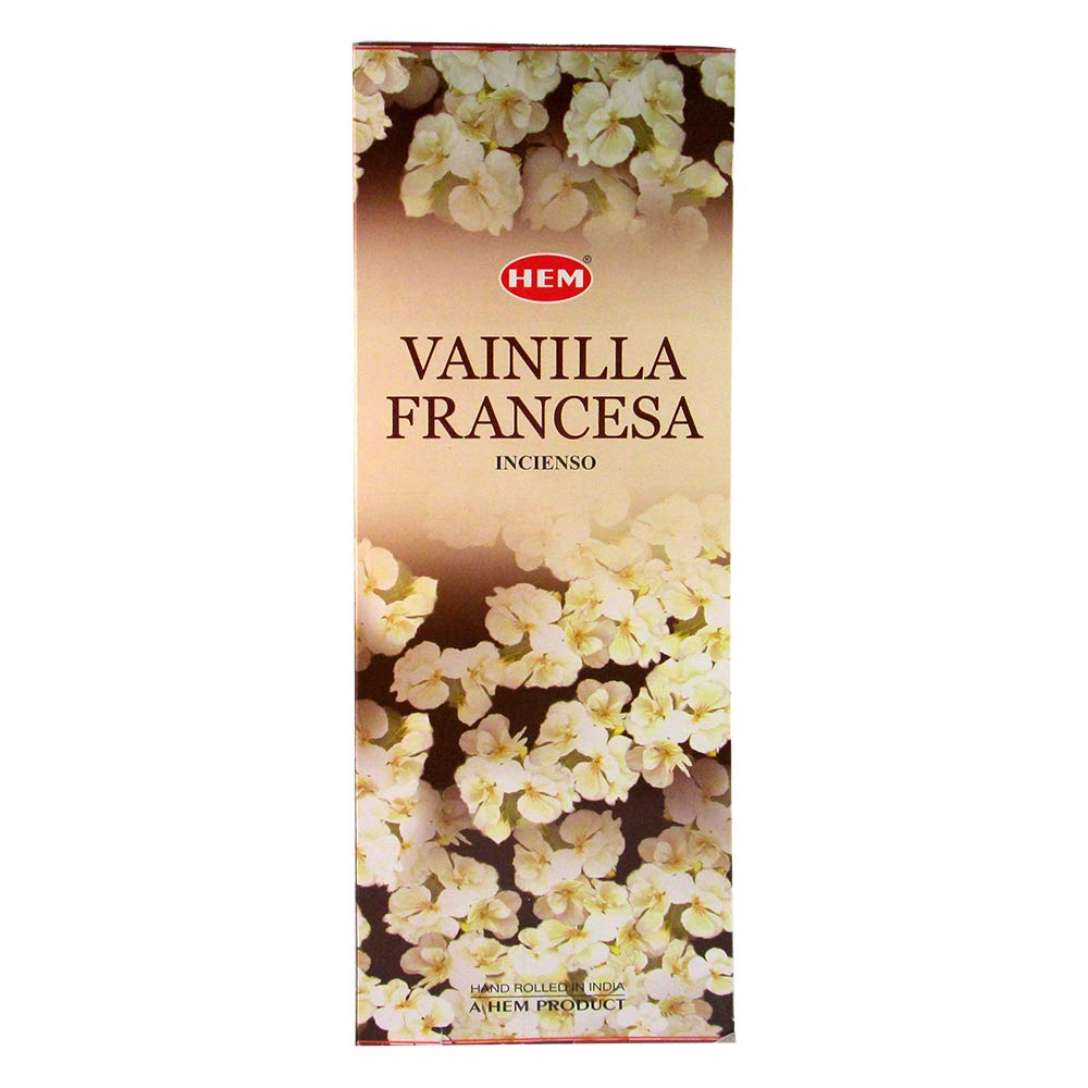 Hem French Vanilla Incense, 120 Sticks Box HEMFV20