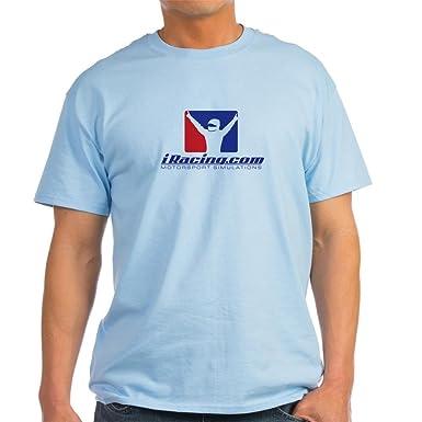f2b271e88 CafePress iracing horiz Logo Modified 2000x2000 T-Shirt 100% Cotton T-Shirt  Light